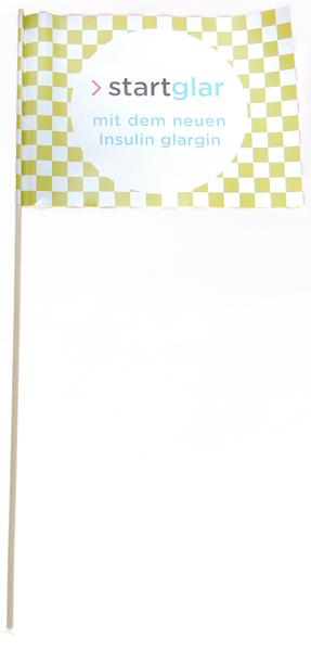 Papierfahne individuell drucken