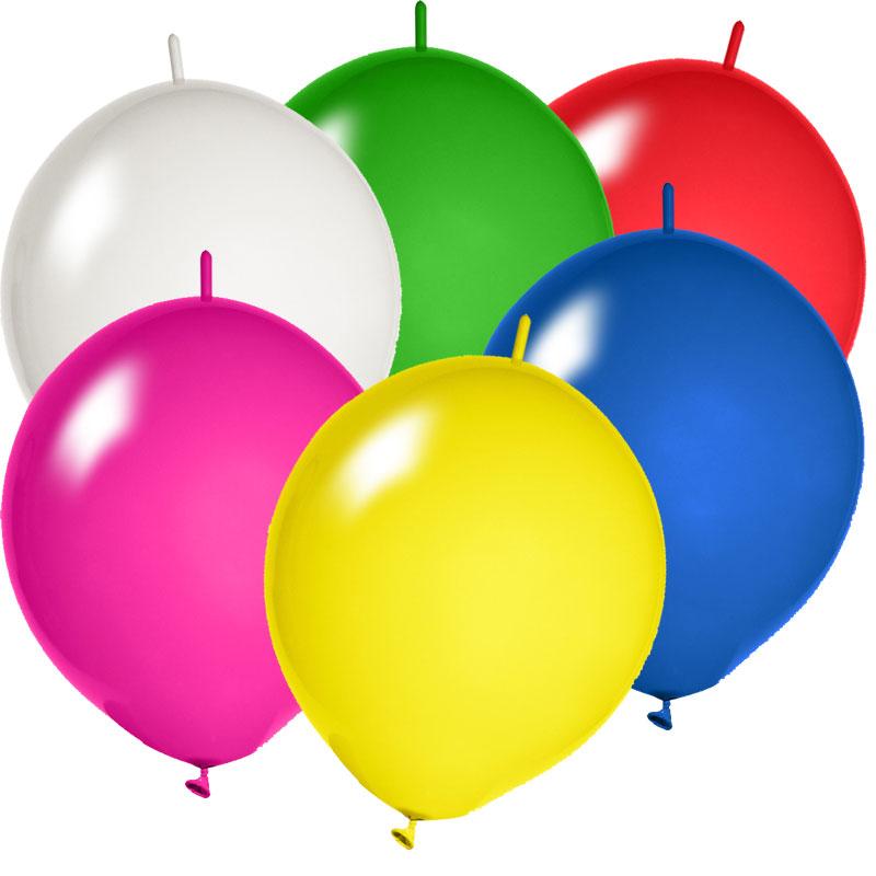 Kettenballon bedrucken