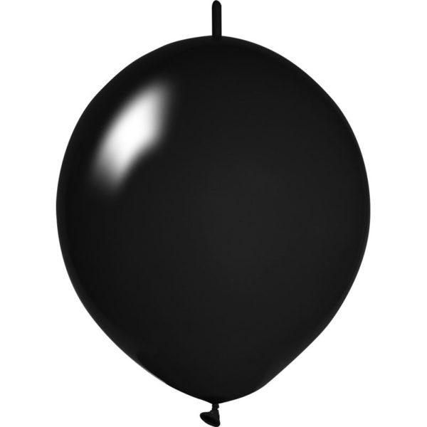schwarze Girlanden Luftballons bedrucken