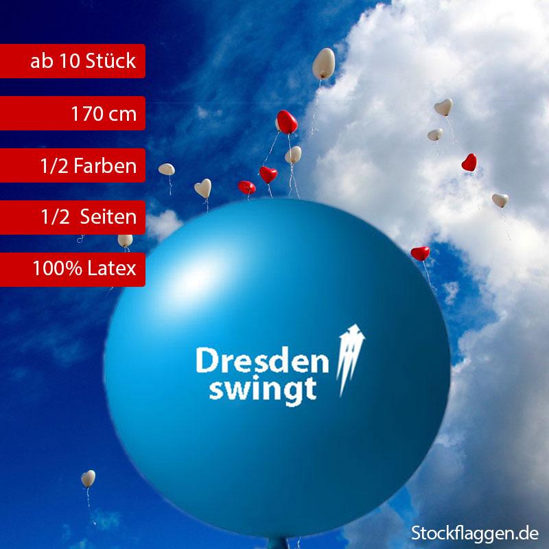 55 cm Riesenballons bedrucken lassen ab 10 Stück