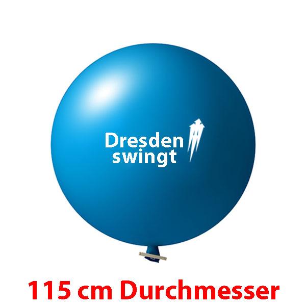 Riesenluftballons bedrucken, Riesenballons bedrucken