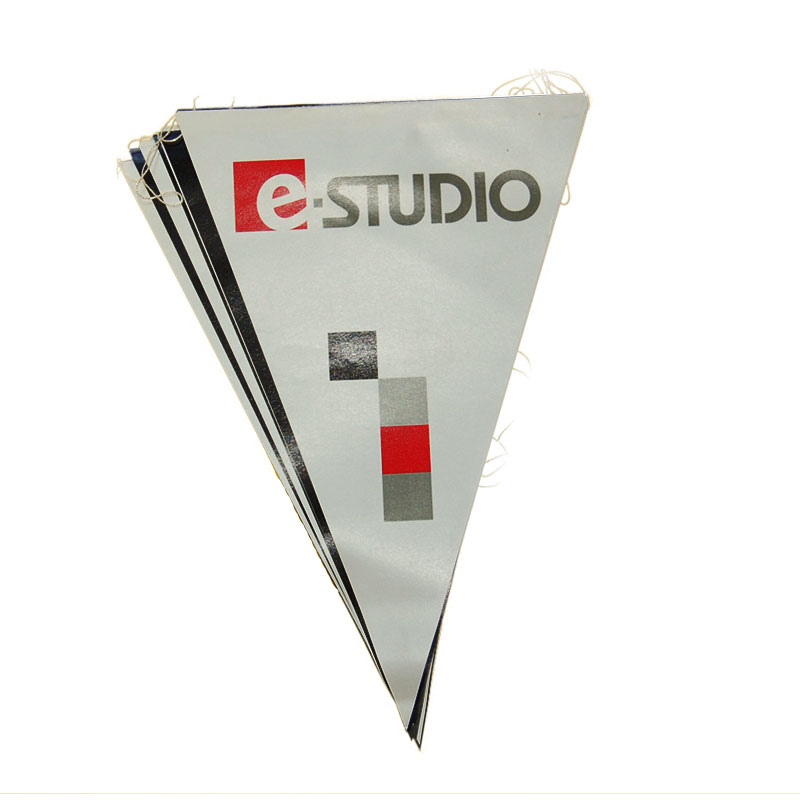 Wimpelkette Papier flammhemmend 15×21 cm – farbig, ab 50 Stück