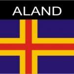 Aufkleber Aland, Länderaufkleber, Nationalflagge, Autoaufkleber