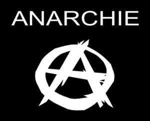 Aufkleber Anarchie Zeichen