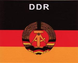 Aufkleber DDR, Länderaufkleber, Nationalflagge, Autoaufkleber