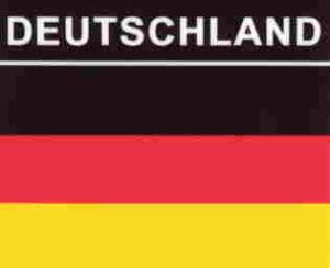 Aufkleber Deutschland, Länderaufkleber, Nationalflagge, Autoaufkleber