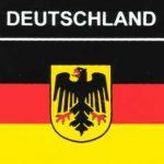 Aufkleber Deutschland Adler, Länderaufkleber, Nationalflagge, Autoaufkleber