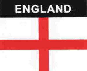 Aufkleber England, Länderaufkleber, Nationalflagge, Autoaufkleber
