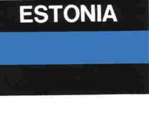 Aufkleber Estland, Länderaufkleber, Nationalflagge, Autoaufkleber
