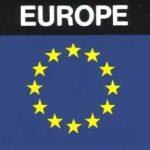 Aufkleber Europa, Länderaufkleber, Nationalflagge, Autoaufkleber