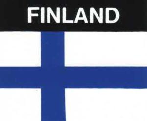Aufkleber Finnland, Länderaufkleber, Nationalflagge, Autoaufkleber