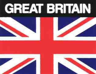 Aufkleber Großbritannien Flagge