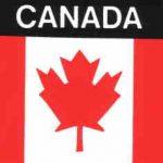 Aufkleber Kanada, Länderaufkleber, Nationalflagge, Autoaufkleber