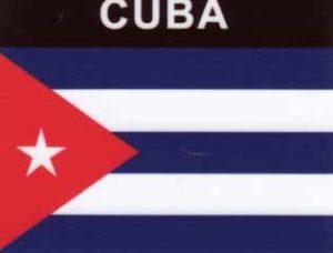 Aufkleber Kuba, Länderaufkleber, Nationalflagge, Autoaufkleber