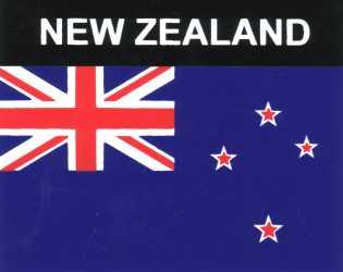Aufkleber Neuseeland Flagge