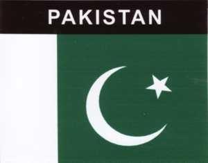 Aufkleber Pakistan Flagge