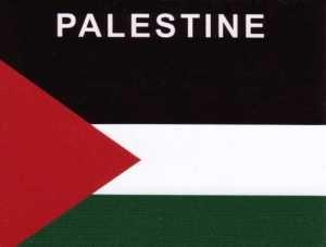 Aufkleber Palästina Flagge