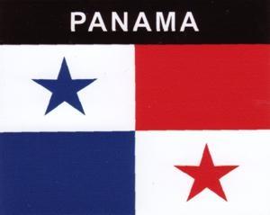 Aufkleber Panama Flagge