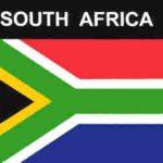 Aufkleber Südafrika, Länderaufkleber, Nationalflagge, Autoaufkleber