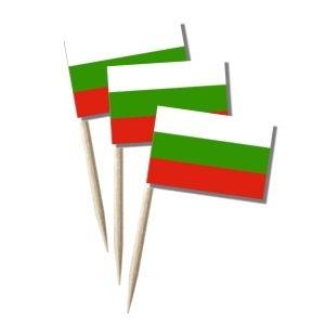 Bulgarien Käsepicker Minifähnchen Zahnstocherfähnchen