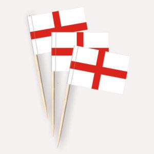 England Käsepicker, Minifahnen, Zahnstocherfähnchen