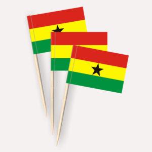 Ghana Käsepicker Minifähnchen Zahnstocherfähnchen
