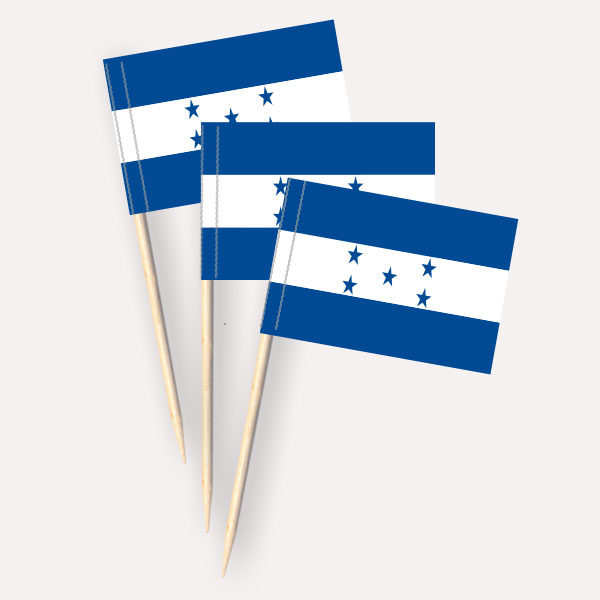 Honduras Käsepicker Minifähnchen Zahnstocherfähnchen