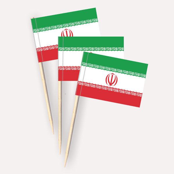 Iran Käsepicker Minifähnchen Zahnstocherfähnchen