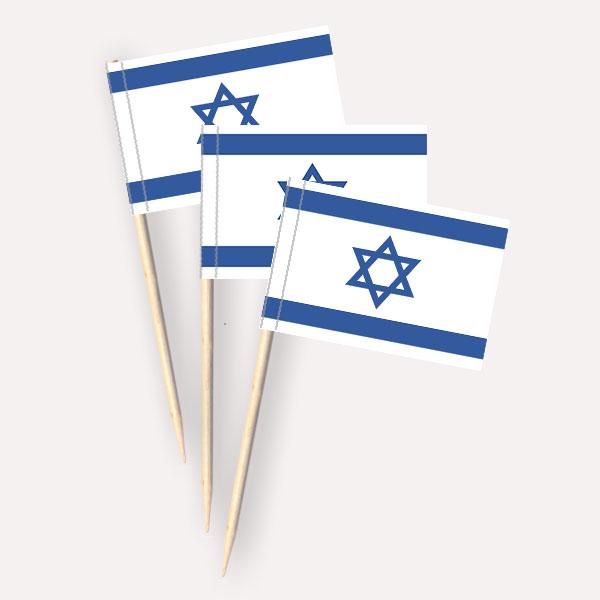 Käsepicker Israel | Minifahnen Zahnstocherfähnchen