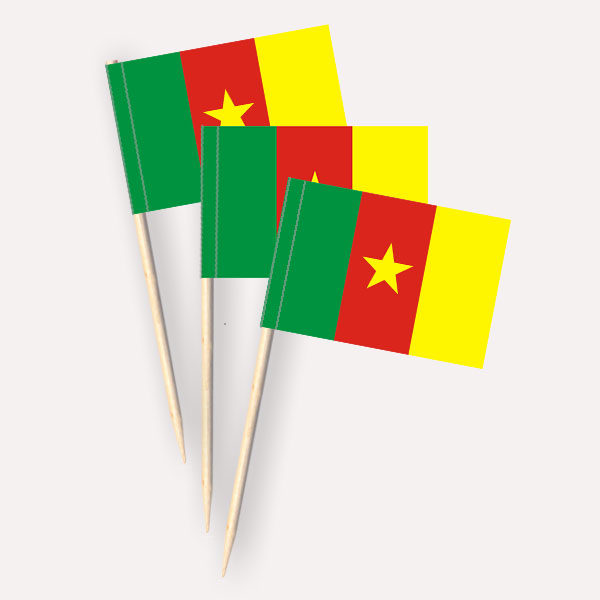 Kamerun Käsepicker Minifähnchen Zahnstocherfähnchen