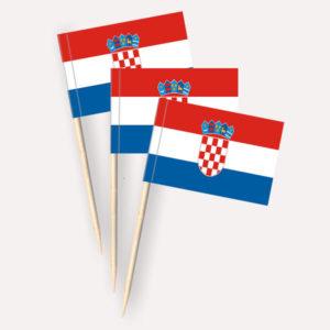 Kroatien Käsepicker Minifähnchen Zahnstocherfähnchen