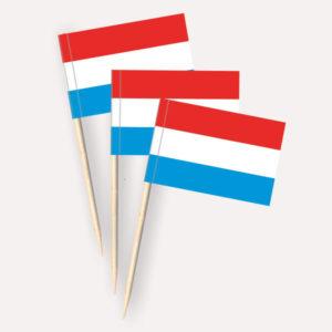 Luxemburg Käsepicker Minifähnchen Zahnstocherfähnchen