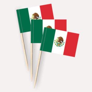 Mexiko Käsepicker Minifähnchen Zahnstocherfähnchen
