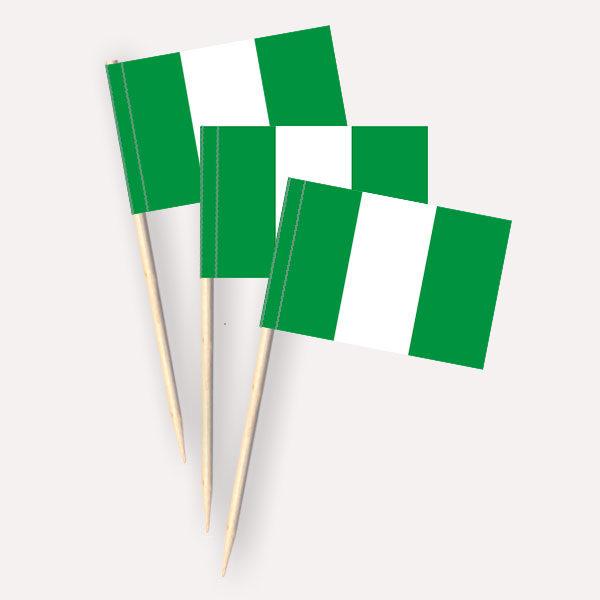 Nigeria Käsepicker Minifähnchen Zahnstocherfähnchen
