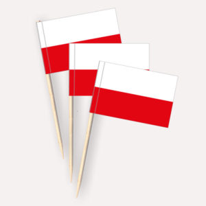Polen Käsepicker, Minifahnen, Zahnstocherfähnchen