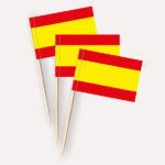 Spanien Käsepicker Minifähnchen Zahnstocherfähnchen