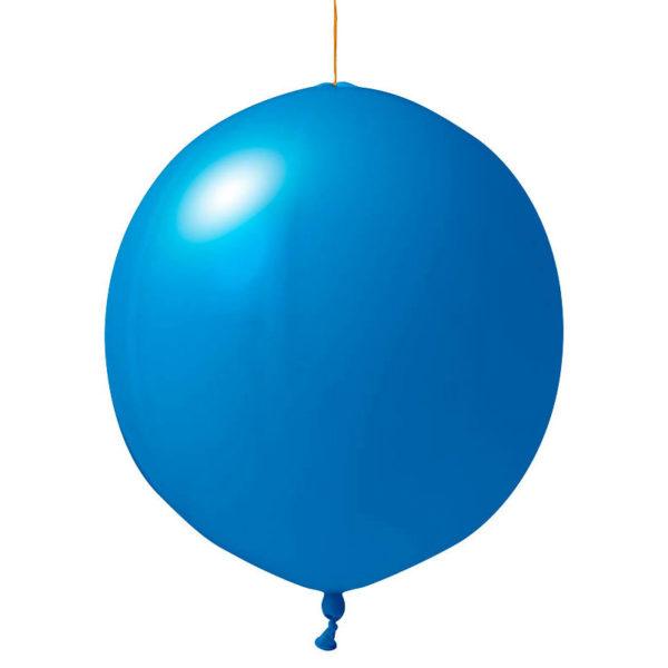 blaue Punschbälle bedrucken lassen