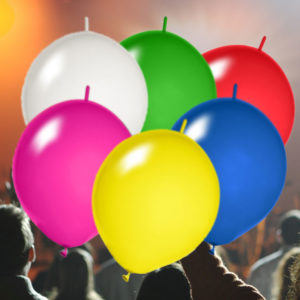 Girlanden Luftballons bedrucken