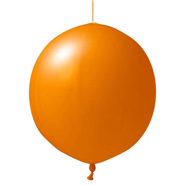 orange Punschbälle bedrucken lassen