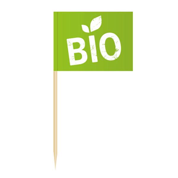Bio Fähnchenpicker Käsepicker Minifähnchen Zahnstocherfähnchen