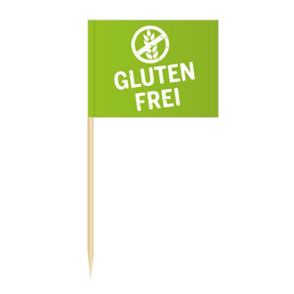 Glutenfrei Fähnchenpicker Käsepicker Minifähnchen Zahnstocherfähnchen