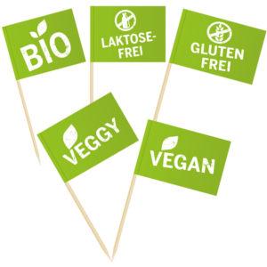 Catering Faehnchen: Vegan, Veggy, Glutenfrei , Laktosefrei, Bio
