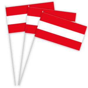 Österreich Papierfahnen kaufen