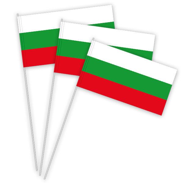 Bulgarien Papierfahnen kaufen