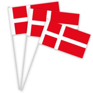 Dänemark Papierfahnen kaufen