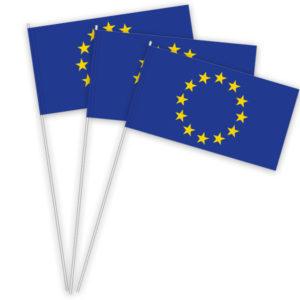 Europa Papierfahnen kaufen