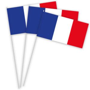 Frankreich Papierfahnen kaufen