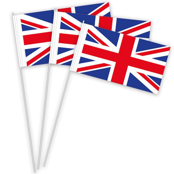 Großbritannien Papierfahnen kaufen