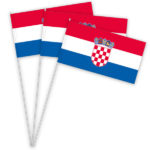 Kroatien Papierfahnen kaufen