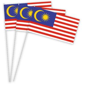 Malaysia Papierfahnen kaufen